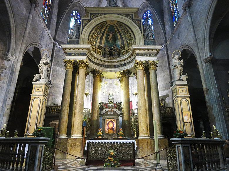 Retablo de la Basílica dels Sants Màrtirs Just i Pastor