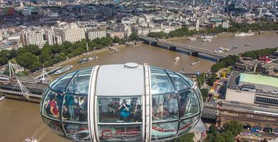 Cápsula del Coca Cola London Eye, Londres