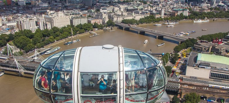 Cápsula del Coca Cola London Eye, Londres
