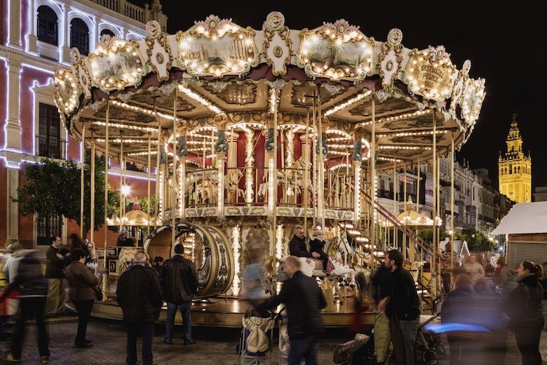 Plaza San Francisco, Sevilla, Navidad