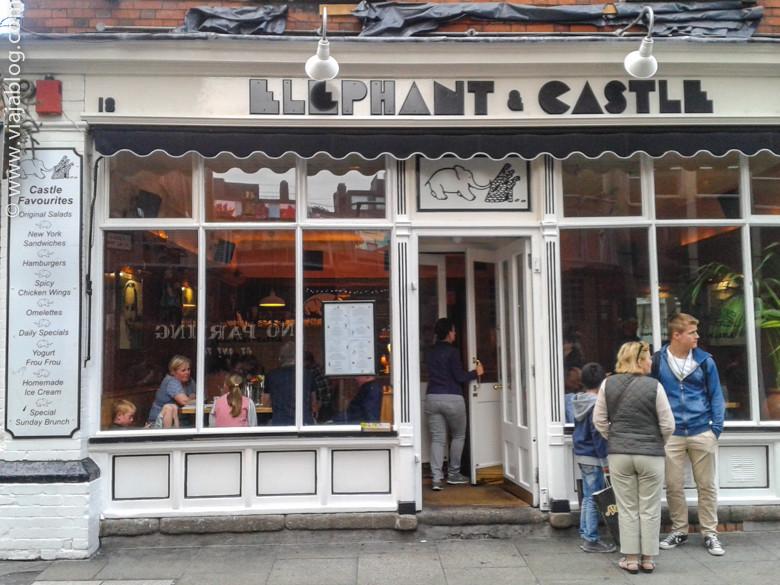 Restaurante Elephant and Castle, Dublín, Irlanda