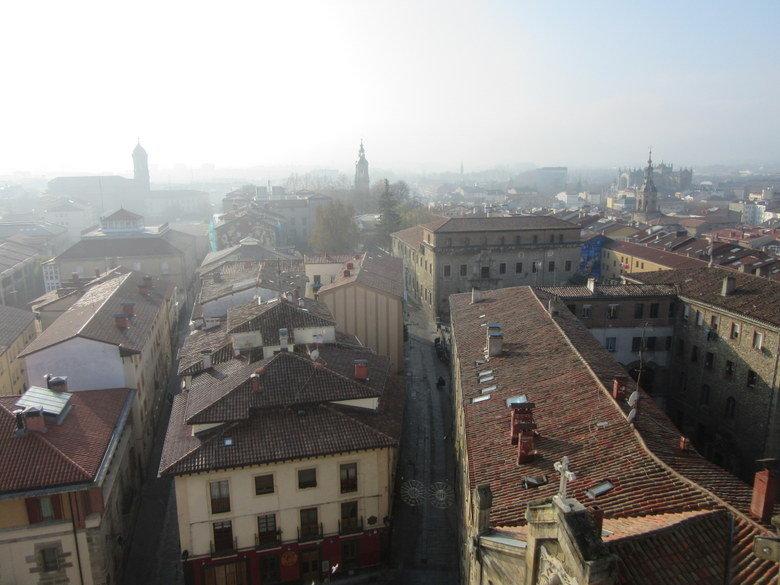 Vistas desde la torre de la Catedral de Santa María