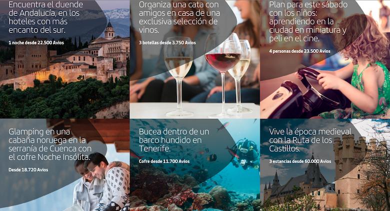 Planes de repente, Avios Iberia Plus
