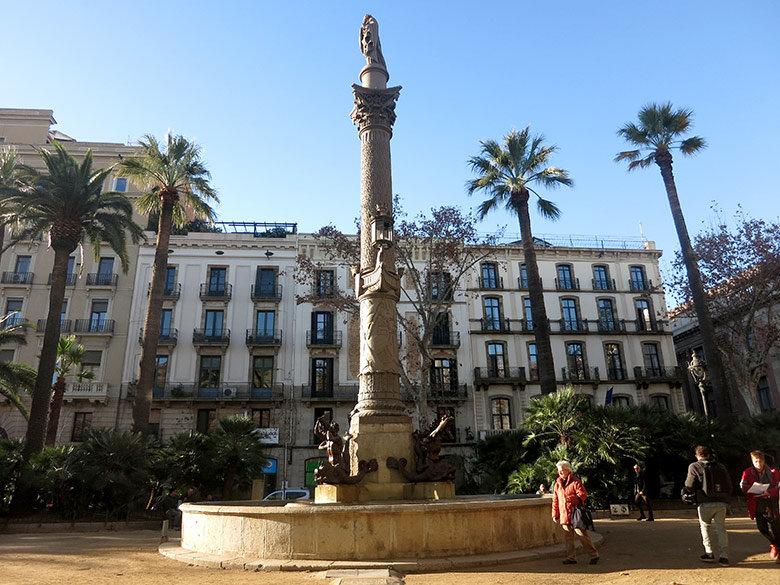 Vistas al norte en la Plaza del Duque de Medinaceli