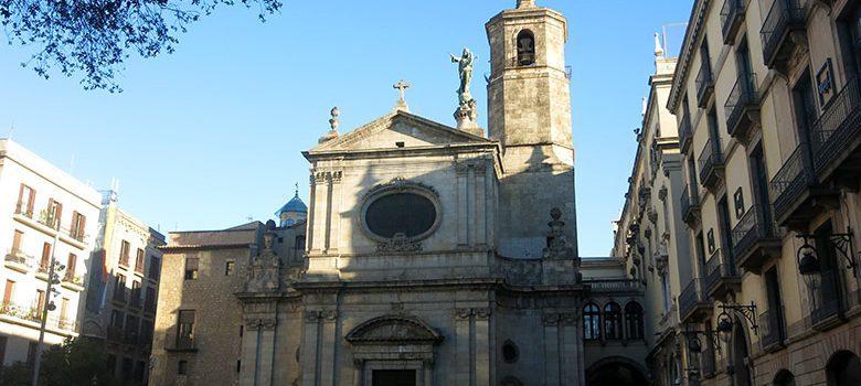Imagen frontal de la Basílica de la Merçè