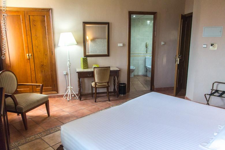 Habitación del Hotel Exe Alfonso VIII en Plasencia