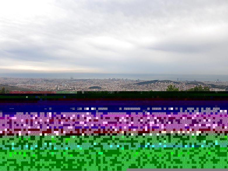 Vistas a Barcelona desde el Turó de Magarola
