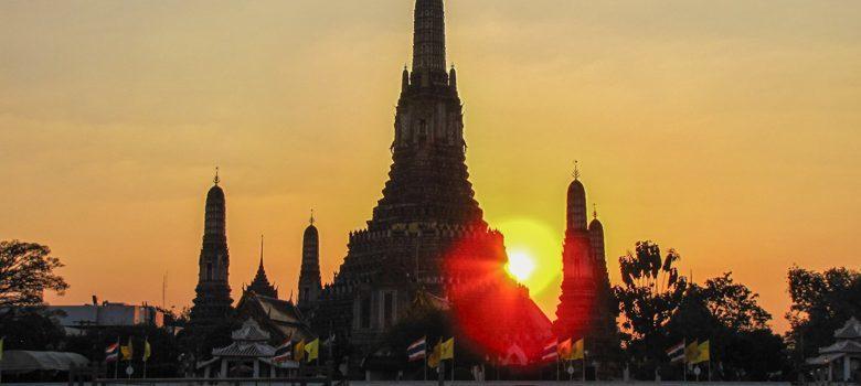 Templos en Bangkok, Tailandia