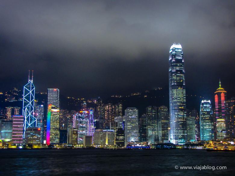 Hong Kong nocturno