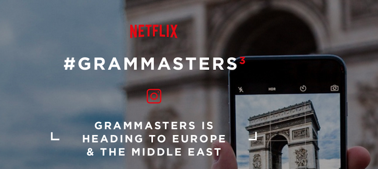 Netflix + Instagram = Concurso Grammasters