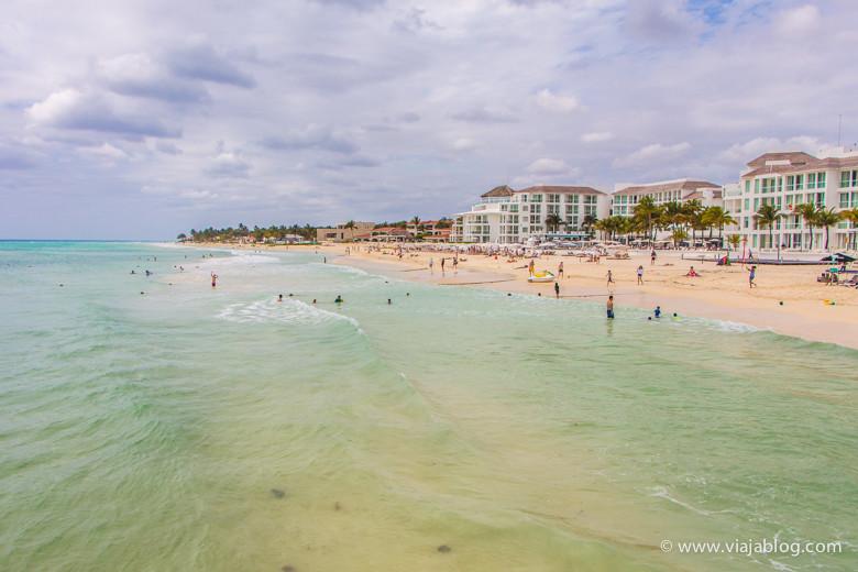Playa del Carmen en Mexico