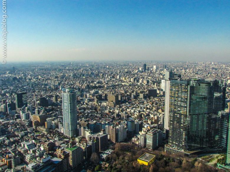 Vistas de Tokio (Japón) desde los rascacielos del Ayuntamiento
