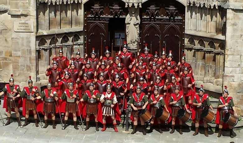Romanos del Via Crucis Viviente de Balmaseda