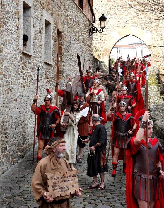 Via Crucis Viviente Balmaseda (Vizcaya)