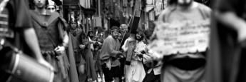 Via Crucis Viviente de Balmaseda (escena)