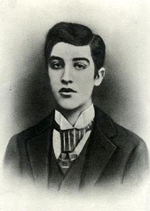 La imagen del Santet mostrada en su lápida