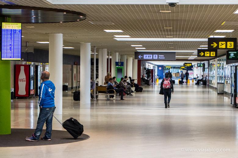 Zona Aire del Aeropuerto de Sevilla
