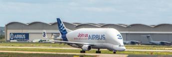 Airbus A300-600ST Beluga en Aeropuerto de Sevilla