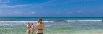 Playa en Gran Caimán, Mar Caribe