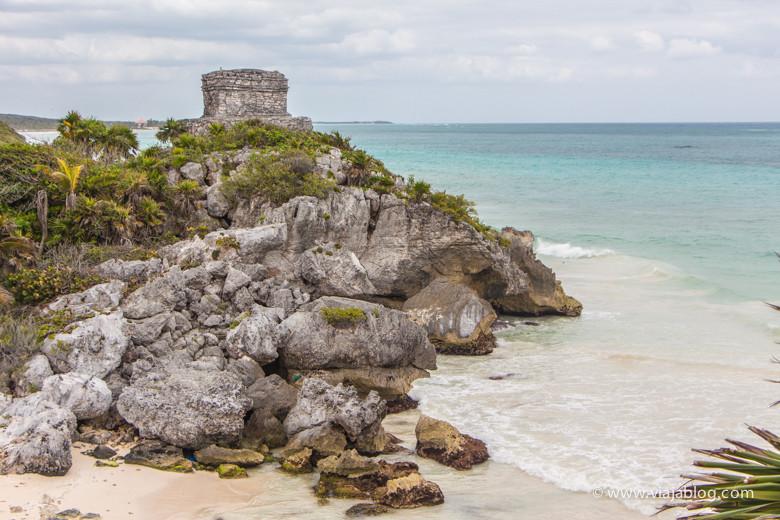 Restos Arqueológicos de Tulúm, Riviera Maya, México