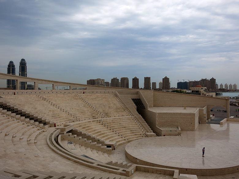 El nuevo anfiteatro de Doha en Katara