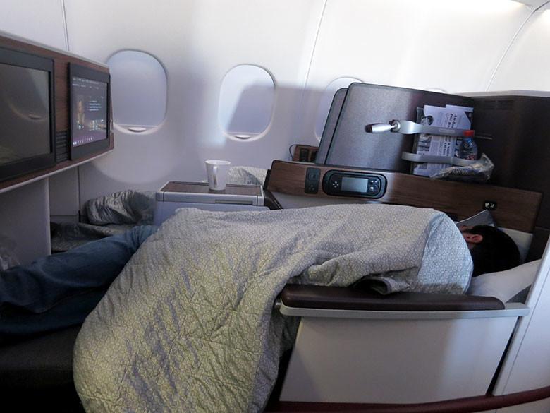 Asientos reclinables 360 grados para dormir cómodamente