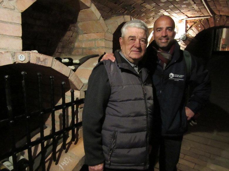 Con el presidente emérito de la República de Kraví Hora