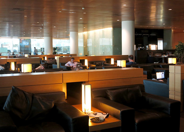 Sala Miró en el aeropuerto de Barcelona
