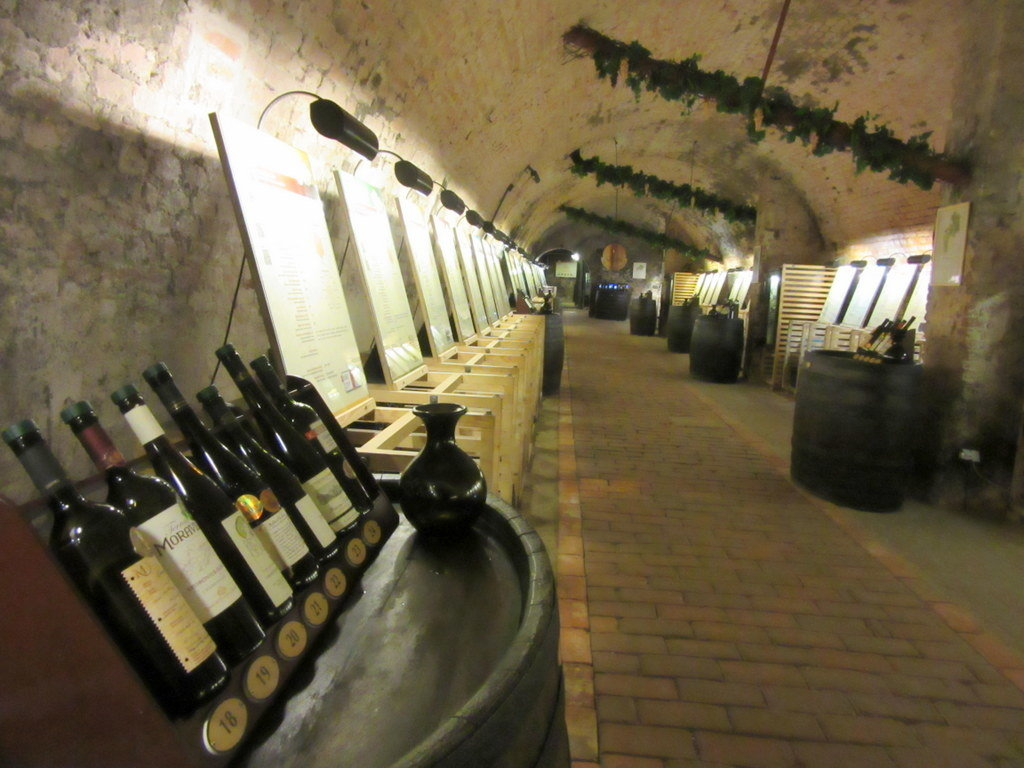 El interior del Salón Nacional del Vino