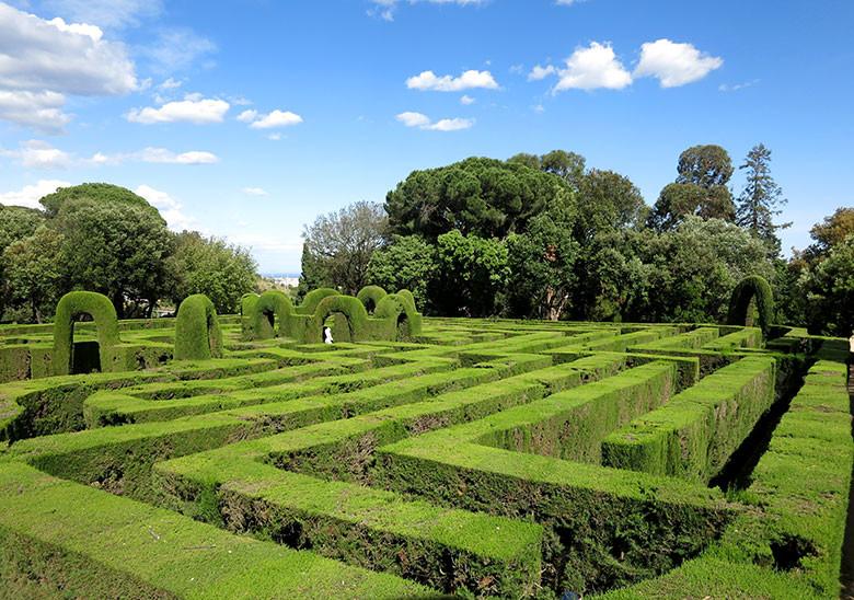 El Parc del Laberint en Horta
