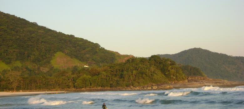 Maresias es la mejor playa del estado de Sao Paulo para practicar el surf