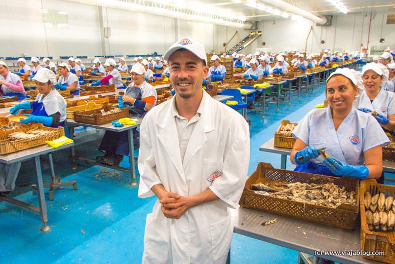 Conservas de pescado USISA en Isla Cristina (Huelva)