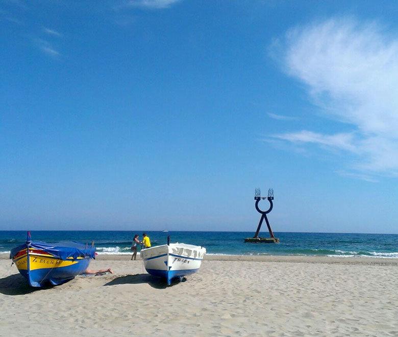 Playa de Baix a Mar en Torredembarra