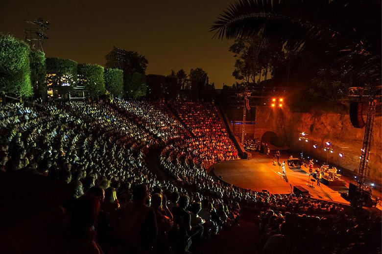Teatre Grec. (c) Foto de Josep Aznar barcelona.cat