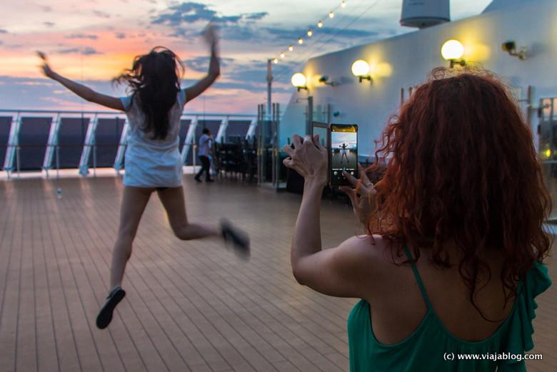 La alegría de irse de crucero por el Caribe en el MSC Opera