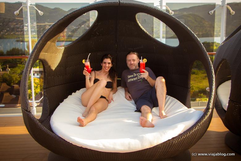 Cóctel y Relax en el Crucero por el Cáribe MSC Opera