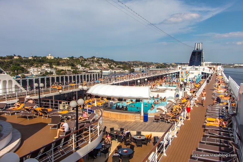 Sol, piscinas y crucero por el Caribe: el MSC Opera en La Habana