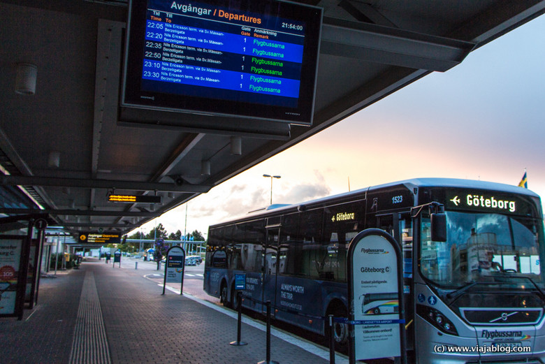 Flygbussarna Autobús Aeropuerto de Gotemburgo