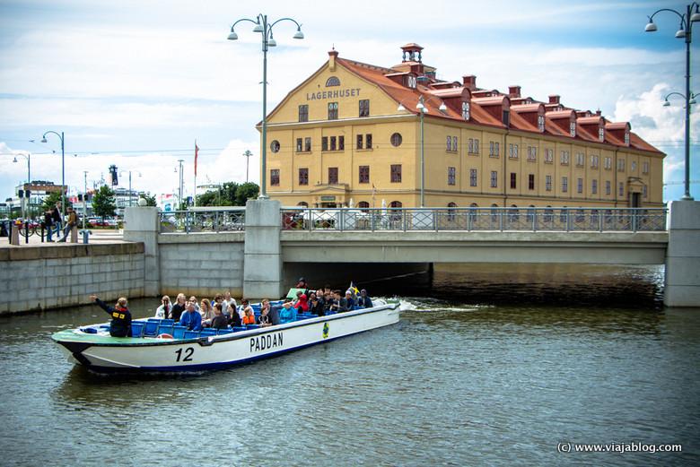 Tour barco Paddan Gotemburgo