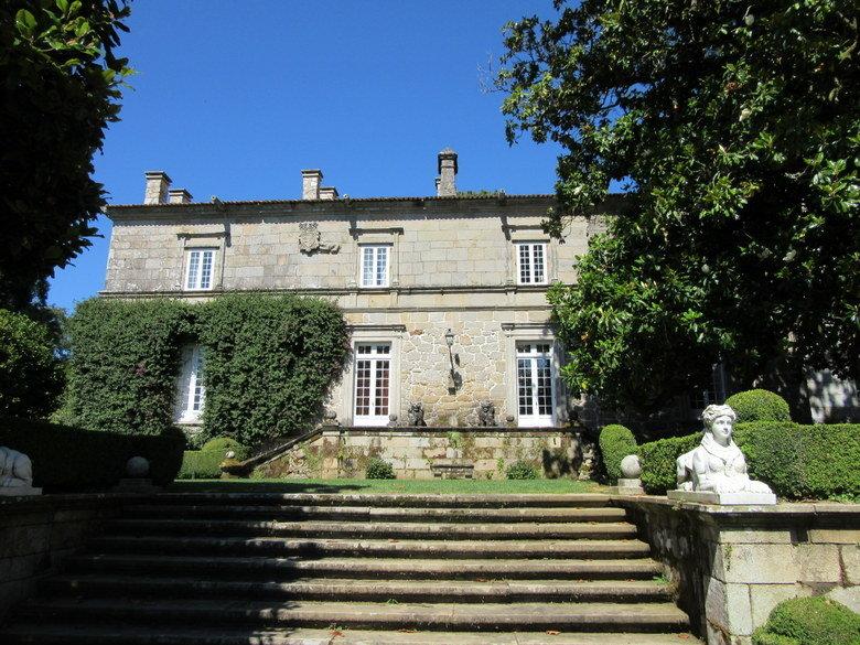 Pazo de Rubianes en Galicia