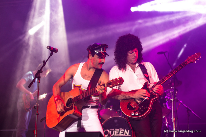 Tributo a Queen. Concierto Costa Brava Gerona