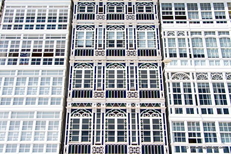 Galerías de edificios en Coruña