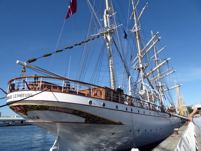 Velero participante Tall Ship Race Coruña