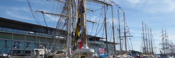 Tall Ships Race en la Coruña