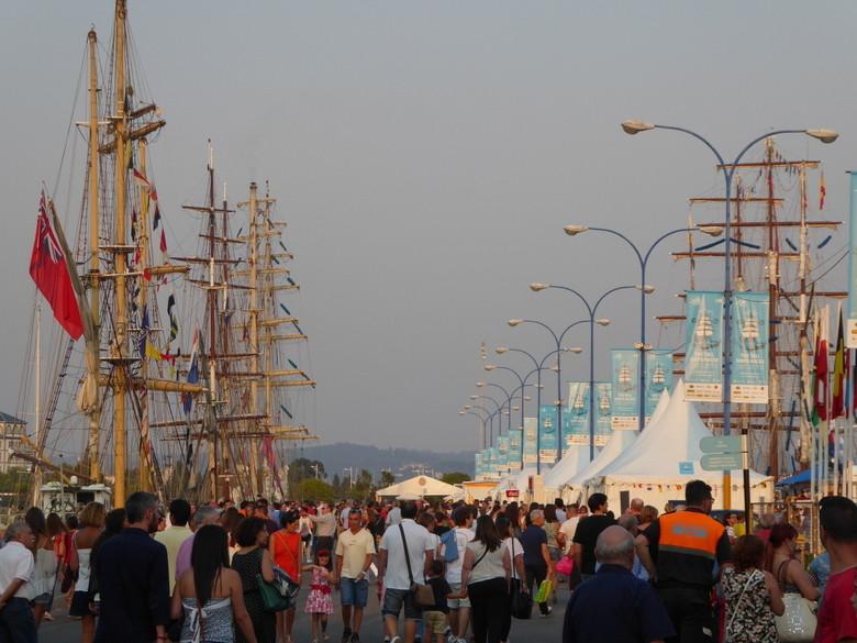 Ambiente Puerto Coruña Tall Ships Races