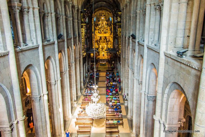 Vista desde las Tribunas, Catedral de Santiago de Compostela