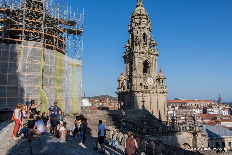 Visita a las Cubiertas de la Catedral de Santiago de Compostela