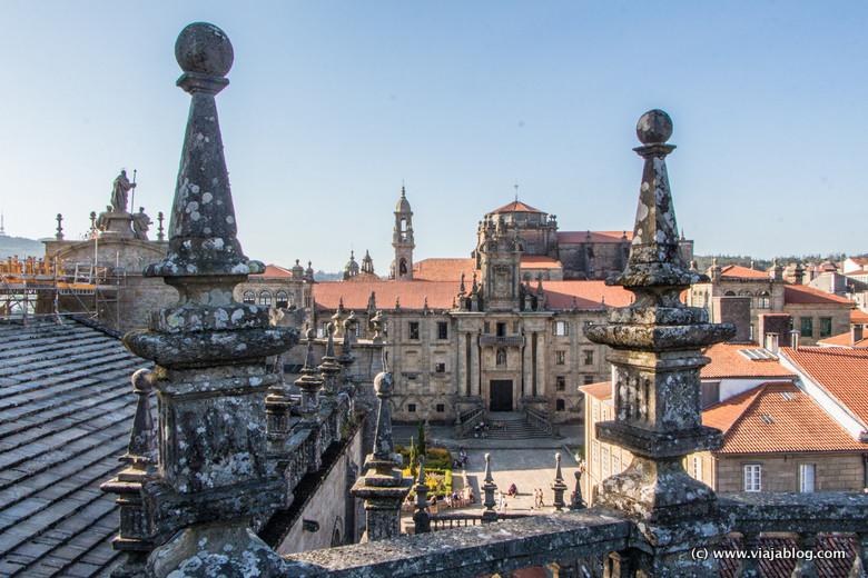 Plaza de la Inmaculada, Cubiertas de la Catedral, Santiago de Compostela