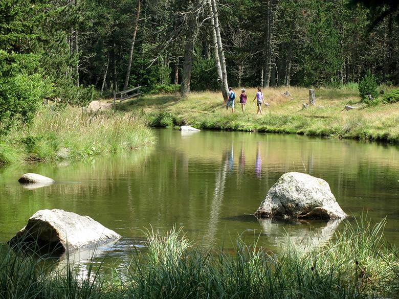 Las aguas tranquilas del río Têt