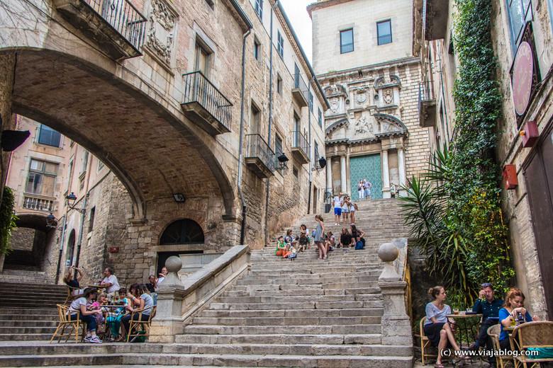 Escaleras de (más de una) película en Gerona